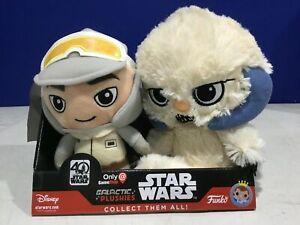 New Galactic Plushies Star Wars Gamestop Exclusive Hoth Luke /& Wampa Plush Funko