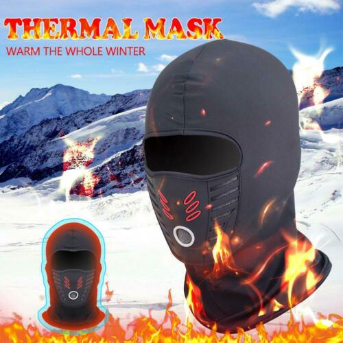 Unisex Winter Windproof Polar Fleece Neck Warmer Motorcycle Thermal Face US