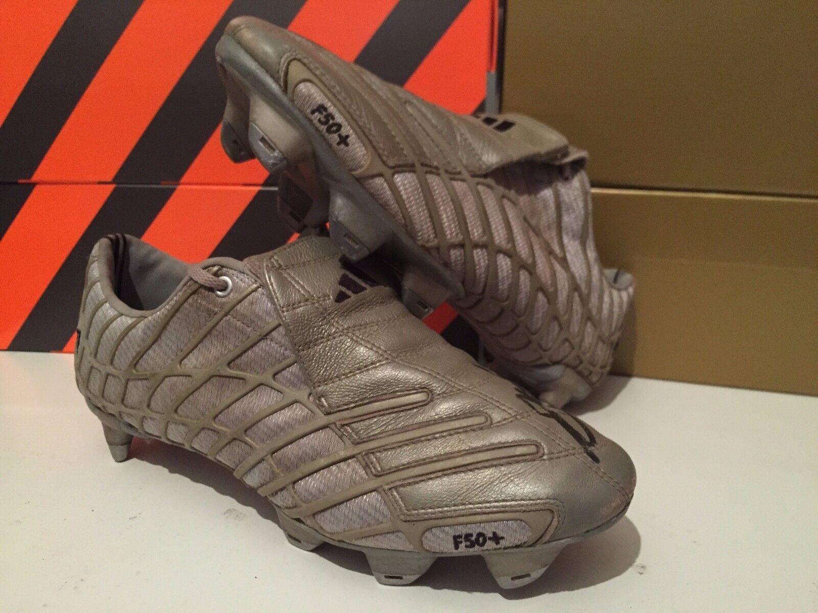 Match Worn emitido firmado Adidas f50 Adizero 8 7 SG F50+ reproductor desconocido Araña 29