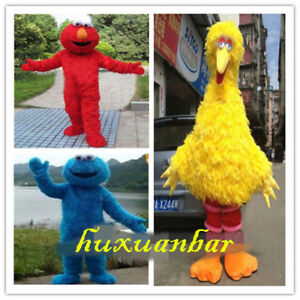 Interesting message Adult big bird costume speaking, did