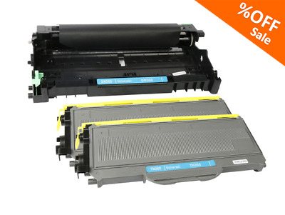 3P For Brother MFC-7840W 7345N Compatible Toner Drum TN360 TN-360 Ink DR360 Drum
