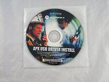 MOTOROLA APX USB DRIVER INSTALL CD ~ PART NUMBER  NVN5424B
