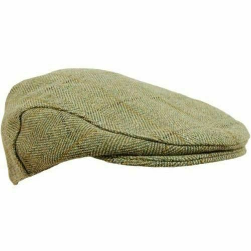 Shooting Hunting Clo Childrens Tweed Flat Cap 54cm Sizes 50cm Bute or Fife