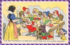 CPA - Carte Postale - WALT DISNEY - Edition Séphériadés  Blanche Neige  N°14