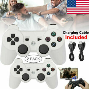 PS3 Wireless Remote Controller Gamepad for PlayStation 3 DualShock 3 White USA