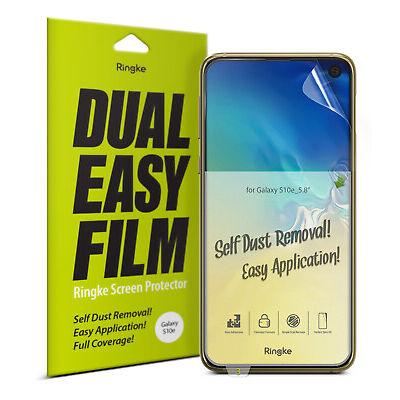 Samsung Galaxy S10 E Screen Protector Ringke® Dual Easy Full Coverage Film 2pcs