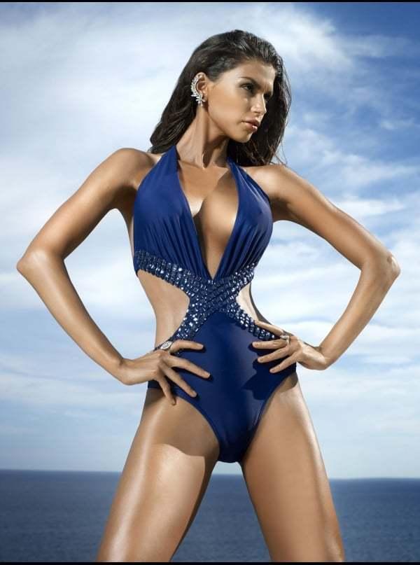 Forever Unique Navy bluee Dolls Swimsuit Mwah Bikini Bahimi Mode House 8 6