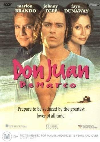 1 of 1 - Don Juan De Marco..MARLON BRANDO..JOHNNY DEPP..FAY DUNAWAY...REG 4..NEW & SEALED