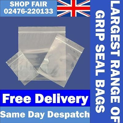 "100 Grip Seal Self Resealable Poly Bags 3.00"" x 3.25"""