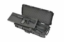 Black SKB Double Short Rifle Case with foam 3i-3614-DR & Pelican TSA- 1700 Lock
