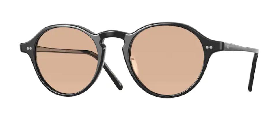 Oliver Peoples 0OV 5445U MAXSON 1005 Black/Brown Men's Sunglasses
