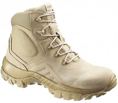 "Bates Delta 6"" Desert Tan Combat / Tactical Boots UK  Sizes 9 - 14"