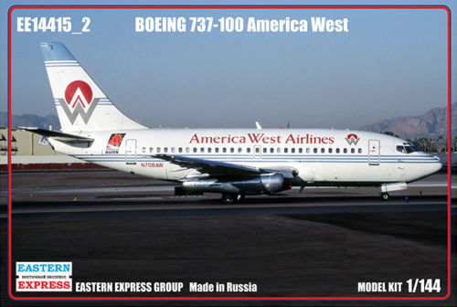 EASTERN EXPRES 14415 -2 CIVIL AIRLINER BOEING 737 -100 AMERICA WEST 1  144 NY