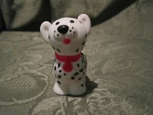 Fisher Price Little People Fire Station Rescue Dog Pet Dalmatian