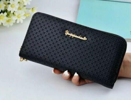 Damen Clutch Geldbörse Brieftasche Portemonnaie Geldbeutel Frauen Portmonee