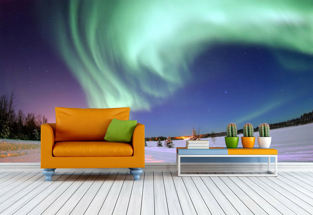 3D Magic Sky Snow 756 Wall Paper Murals Wall Print Wall Wallpaper Mural AU Kyra