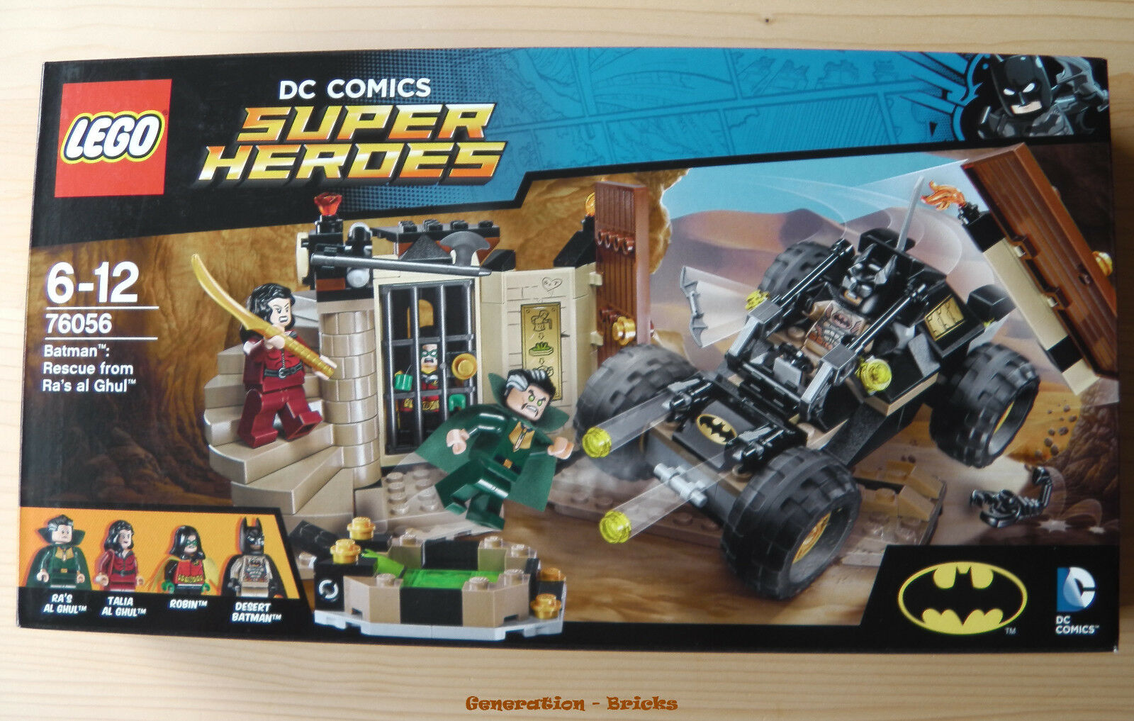 LEGO® (76056) DC Comics™ Super Heroes Batman™  Ra's Ra's Ra's al Ghuls™ Rache NEU a4f363