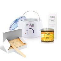 Professional Waxing Kit Soft Wax Honey Heater Salon Hair Travel Spa Body Care