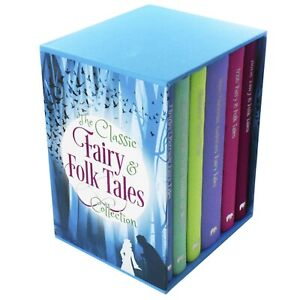Classic-Fairy-amp-Folk-Tales-6-Books-Young-Adult-Collection-Hardback-Box-Set