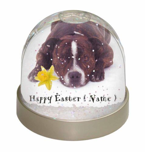 Personalised Staff Terrier Photo Snow Globe Waterball Stocking Fil AD-SBT2DA2GL