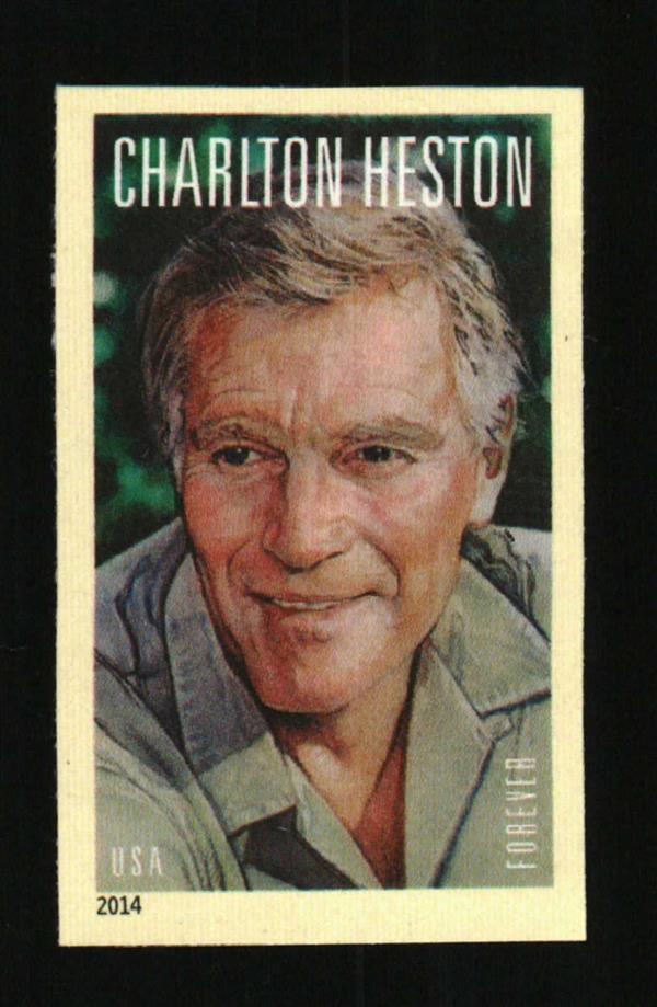 2014 49c Charlton Heston, National Rifle Association, I