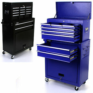 Image Is Loading TOOL CHEST 2 IN 1 TOOLBOX ROLLER HEAVY