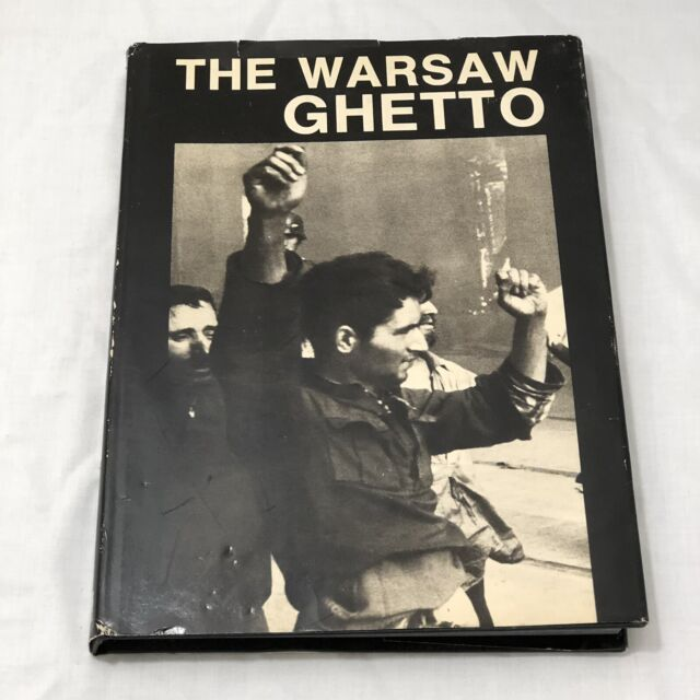The Warsaw Ghetto Hardcover Book The 45th Anniversary Of The Uprising