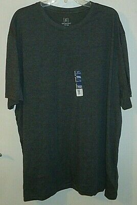 Men/'s George Moisture Wicking Supersoft Tag Free Comfort Crew Neck SS Tee NWT