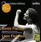 Schumann: Piano Concerto; Beethoven: Piano Concerto No. 2 (CD, Oct-2015, Audite)