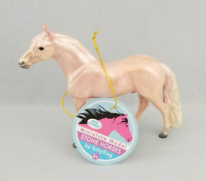 Peter-Stone-Chips-Model-Horse-Glossy-Pink-Andalusian-Handpicked-Clear-NICE
