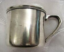 Vintage Japanese Sterling Silver Mug by ASAHI Japan 81g
