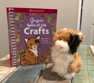 """Details about American Girl 5"""" Calico Cat GINGER Pet AG Retired Hard Body  Soft Fur No Collar"""