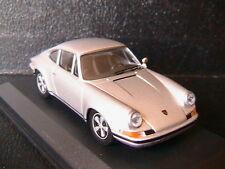 PORSCHE 911 S 1972 SILVER RBA COLLECTABLES 1/43 ARGENT SILBER BOITIER BLISTER