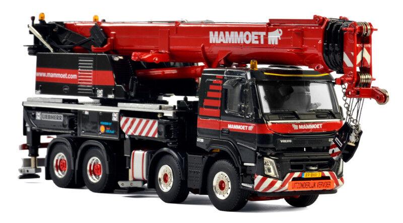 WSI 410331 Mammoet - Liebherr LTF 1060-4.1 4-Axle Mobile Crane Die-cast 1 50 MIB