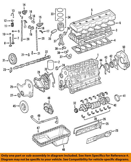 ram chrysler oem 12 13 3500 engine piston 68067120ab ebay rh ebay com 2006 5.9 Cummins 24 Valve Engine Only Caterpillar 3500 Engine Specs
