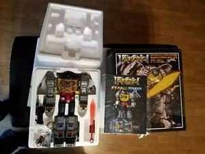 Transformers Fans Toys Fanstoys Ft-08 Grinder G1 Grimlock Dibot Dinobot 1ère Ver