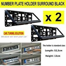 2 X Carbone Contours Plaque Immatriculation Support Cadre pour BMW 1 Série E82