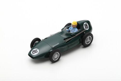 VANWALL VW 2 N°18 GP Angleterre 1956 José Froilán González 1//43 Spark S7201