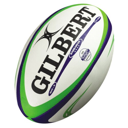 Gilbert Barbarian Rugby Match Ball + Free Aus Delivery