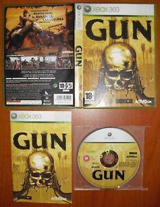 GUN-NeverSoft-Activision-Xbox-360-Pal-Espana-COMPLETO-Y-EN-BUEN-ESTADO