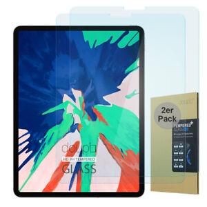 2x-9H-Hartglas-iPad-Pro-11-034-2018-HD-Display-Schutz-Panzer-Verbundglas-Klar-Folie