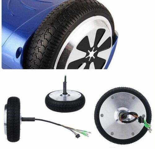 """2Pc of 6.5/"""" Replacement Wheel Rim Tire For Mini Smart Unicycle Scooter Motor AU"""
