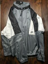 Nike Sportswear 1989 RETRO Woven Re-Issue Sports Jacket Hooded AQ1890 403 $110