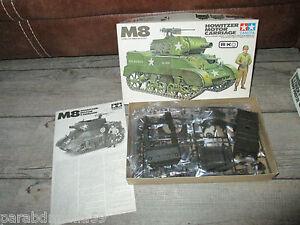 Maquette Tamiya-Char Tank M8 Hiwitzer motor carriage