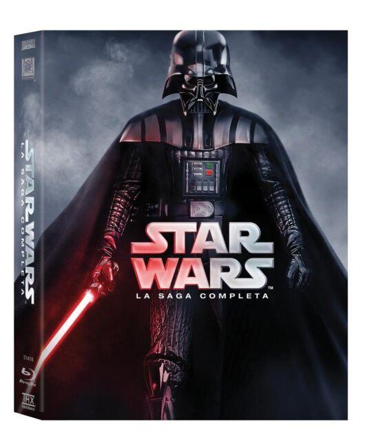 Star Wars - La Saga Completa (9 Blu-Ray Disc) - ITALIANO ORIGINALE SIGILLATO-