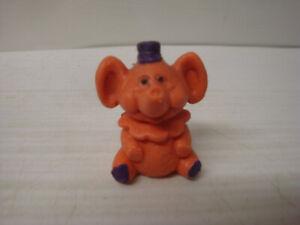 Figurine-Old-Esso-Glup-039-s-Glups-City-Brother-Clowniste-N-3-Orange