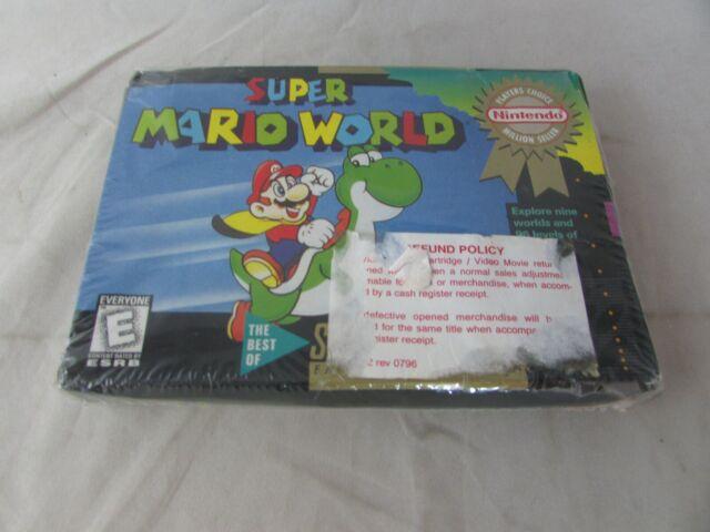 Super Mario World (super Nintendo 1990) SNES Nes N64