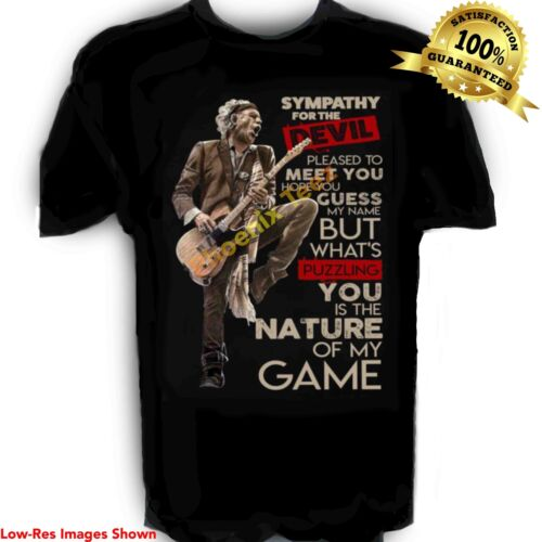 Rolling Stones t shirt Keith Richards Sympathy for the Devil  S-6X Tall Sizes