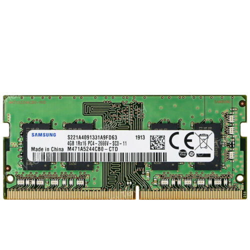 Samsung 4GB 8GB 16GB 1RX16 PC4-2666V DDR4 2666Mhz PC4-21300 SODIMM 260Pin Memory