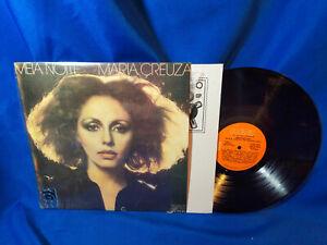 Maria-Creuza-LP-Meia-Noite-RCA-Victor-110-0014-1977-Argentina-Pressing-VG